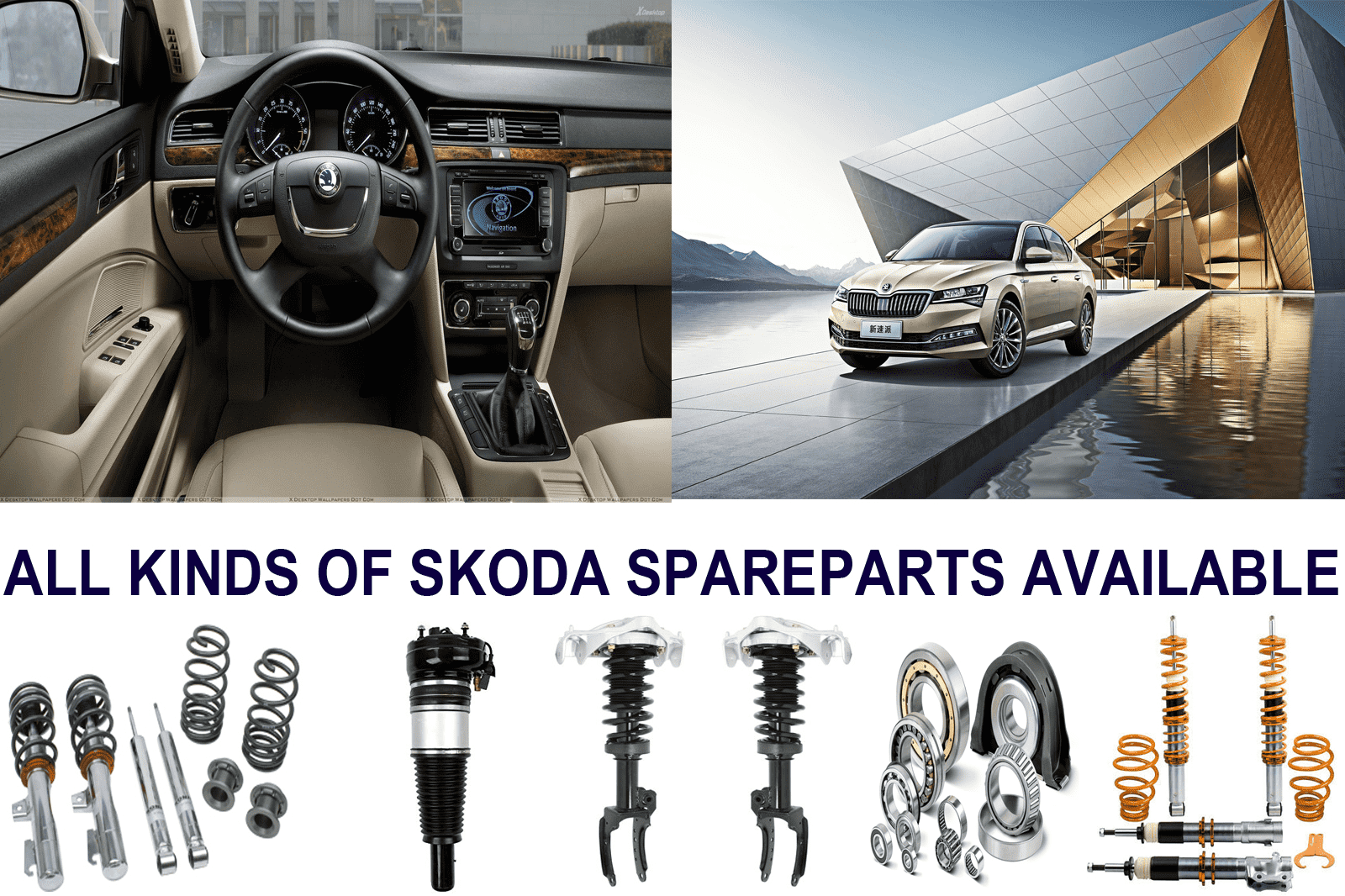 All Types of Skoda Parts